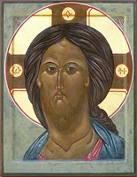 Face of Christ - Icon by Sr. Kathleen Holmberg