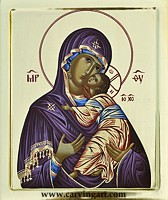 Click to see Mother of God with Christ