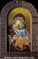 Click to see Theotokos with Christ