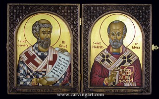 Click to see the St. Gregory the Great / St. Nicholas Diptych