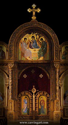 Click to see my iconostasis
